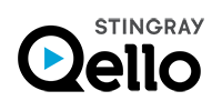 Stingray Qello logo